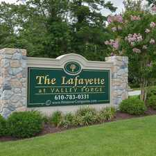 Rental info for The Lafayette at Valley Forge