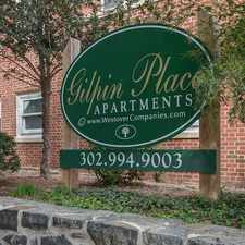Rental info for Gilpin Place Apartments in the Wilmington area