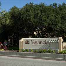 Rental info for L'Estancia