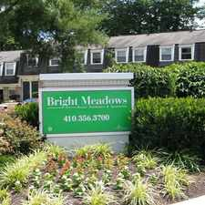 Rental info for Bright Meadows Townhomes