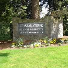 Rental info for Crystal Creek Apartments