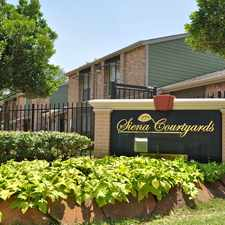 Rental info for Siena Courtyard in the Greater Greenspoint area