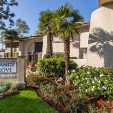 Rental info for Orange Grove