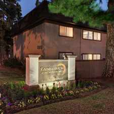 Rental info for Fairhaven Apartment Homes in the Cabrillo Park area