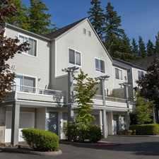 Rental info for Park Hill At Issaquah