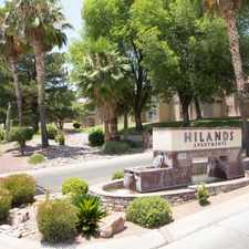 Rental info for Hilands Apartment Homes in the Tucson area
