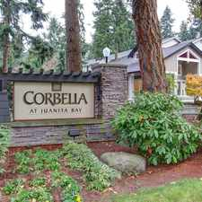 Rental info for Corbella at Juanita Bay