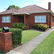 Rental info for Position Perfect! in the Kingsgrove area