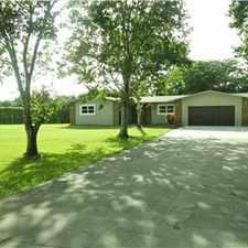 Rental info for Davie Acre Home in the Davie area