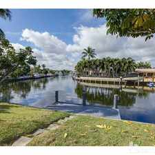 Rental info for INCREDABLE WATERFRONT. CALL JAY in the Galt Mile area