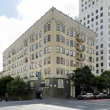 Rental info for 601 O'FARRELL Apartments