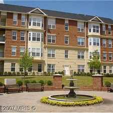 Rental info for Beautiful Luxury Condo in the heart of the Old-Tow in the Herndon area