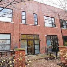 Rental info for JUST LISTED - HUGE BUCKTOWN MUST SEE DUPLEX PENTHOUSE LOFT! AN ENTERTAINERS DREAM!