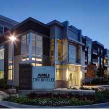 Rental info for AMLI Deerfield