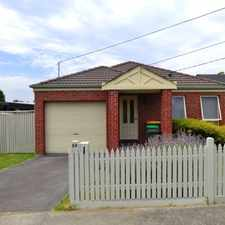 Rental info for Low Maintenance Home in a Convenient Sought after Location!