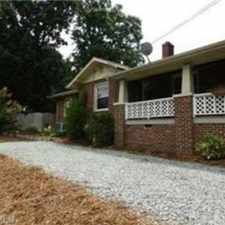 Rental info for 4 bed/2 bath quaint Thomasville neighborho
