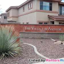 Rental info for 42424 N Gavilan Peak Pkwy Unit 47206