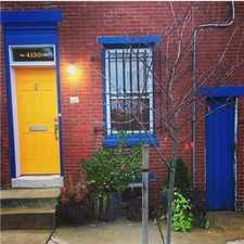 Rental info for 2br Home in University City - Huge Yard, Central A in the Philadelphia area