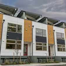 Rental info for $3500 3 bedroom Townhouse in West Seattle