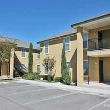 Rental info for Thompson Apartments in the San Antonio area