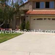 Rental info for Upcoming Moorpark Rental in the Simi Valley area