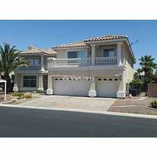 Rental info for Large 5 bed - 89139 - L 12.15 in the Enterprise area