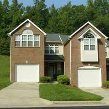 Rental info for Crystal Lake Townhomes