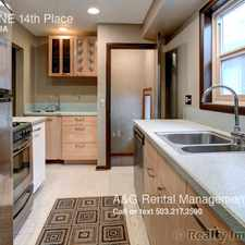 Rental info for 4735 NE 14th Place in the Sabin area