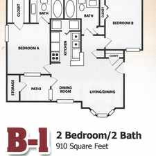Rental info for The Enclave in the 77840 area
