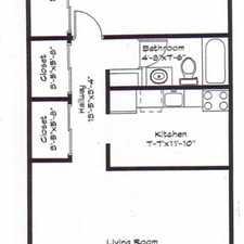 Rental info for 70 South Elm Street