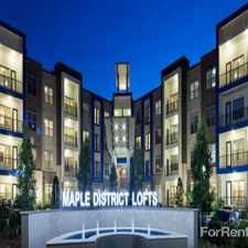 Rental info for Maple District Lofts in the Dallas area