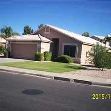 Rental info for Great House on Gilbert/Mesa Border in the Mesa area