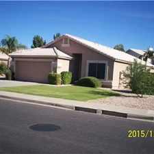 Rental info for Great House on Gilbert/Mesa Border