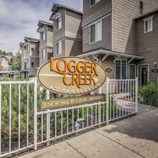 Rental info for Logger Creek at Parkcenter