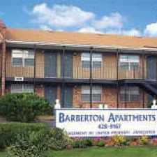 Rental info for Barberton Apartments