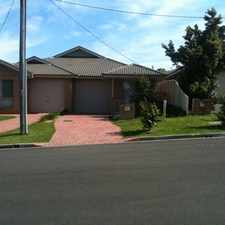 Rental info for 3 BEDROOM HOME & SINGLE CAR GARAGE & ENSUITE in the Wollongong area