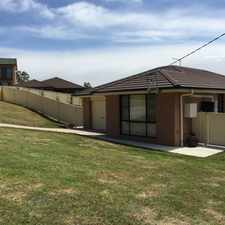 Rental info for Neat as a pin in the Lithgow area