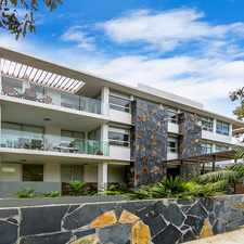 Rental info for Stunning, Luxury Apartment-LEASED!! in the Narrabeen area
