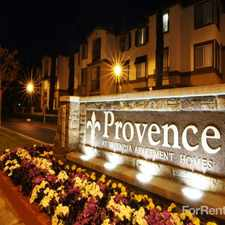 Rental info for Provence At Valencia in the Santa Clarita area