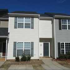 Rental info for Large Town Home