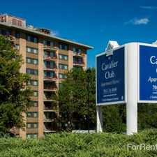 Rental info for Cavalier Club Apts in the Arlington area