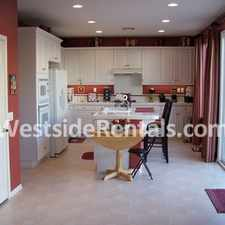 Rental info for Large Camarillo family home