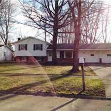 Rental info for Mentor 3 bedroom split level single family home