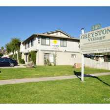 Rental info for Greystone Village in the El Cajon area