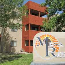 Rental info for Mesa Ridge Apartments