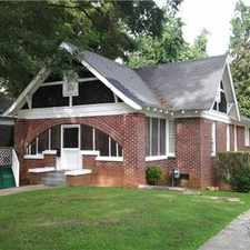 Rental info for Home for Rent in Historic SW Area of Atlanta in the West End area