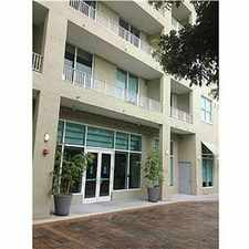 Rental info for Beautiful 1/1 Loft Style Amazing City Views! in the Coral Gables area