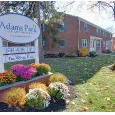 Rental info for Adams Park Apartments in the Buckingham Lake - Crestwood area