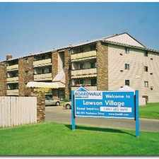 Rental info for Lawson Village - 2 Bedroom Apartment for Rent in the Lawson Heights area