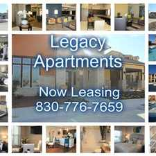 Rental info for Legacy Apartments in the Clearview area